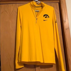 Nike Dri-fit quarter zip-Iowa Hawkeyes